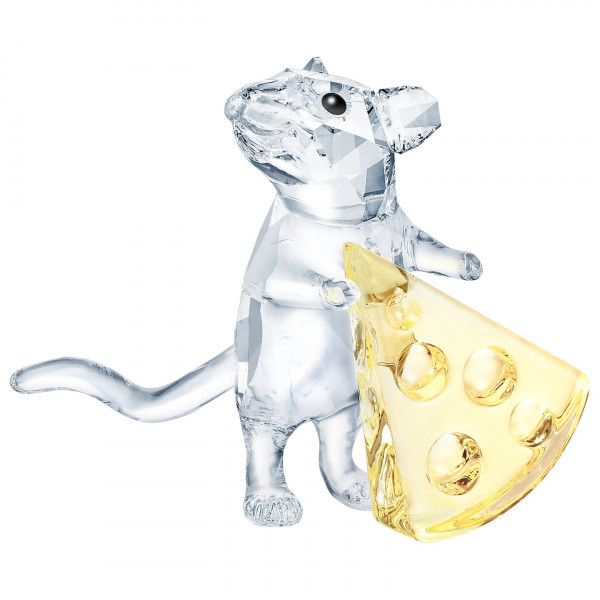 SWAROVSKI Mouse with cheese 5464939