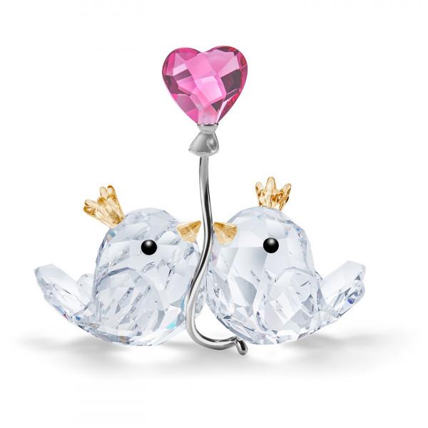 SWAROVSKI Love Birds, Pink Heart 5492226