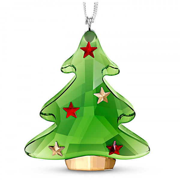 SWAROVSKI Green Christmas Tree Ornament 5544526