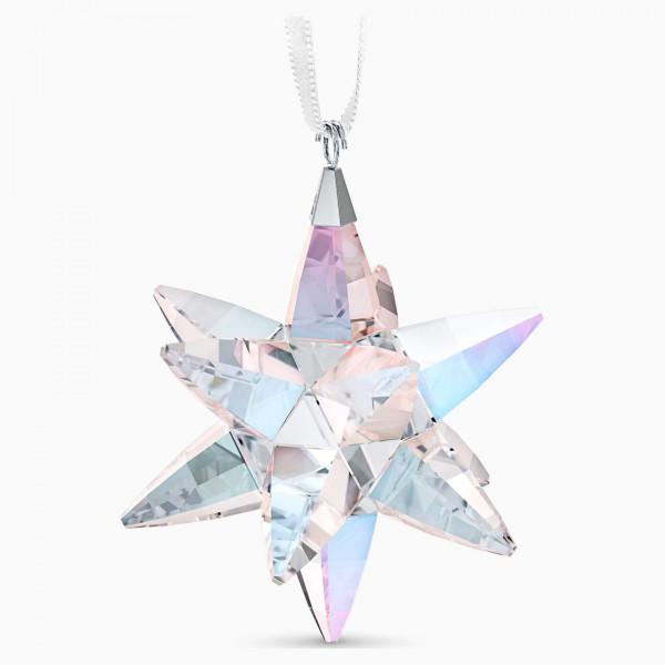 SWAROVSKI Star Ornament Shimmer, Medium, 5545450