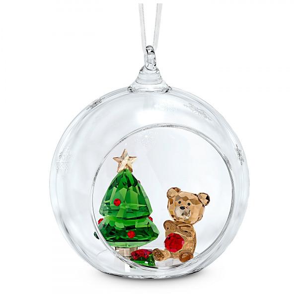 SWAROVSKI Ball Ornament, Christmas Scene 5533942