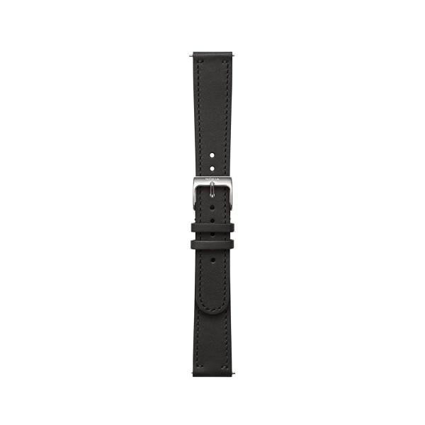 NOKIA nahkaranneke musta 18mmm 550033