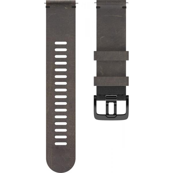 POLAR Grit X ruskea nahkaranneke 22mm 91081744