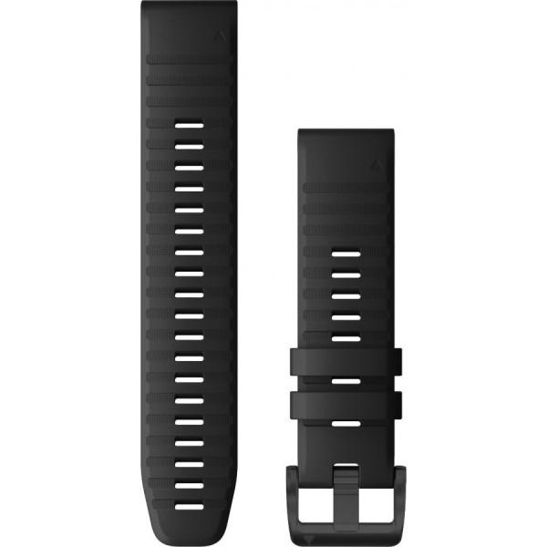 GARMIN Fenix 6 Quickfit 22mm musta silikoniranneke 010-12863-00