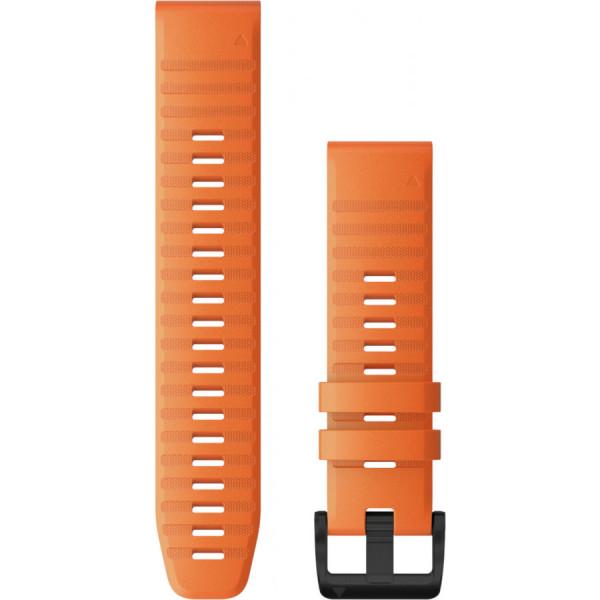 GARMIN Fenix 6 Quickfit 22mm oranssi silikoniranneke 010-12863-01