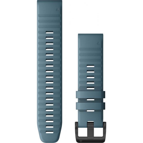 GARMIN Fenix 6 Quickfit 22mm sininen silikoniranneke 010-12863-03