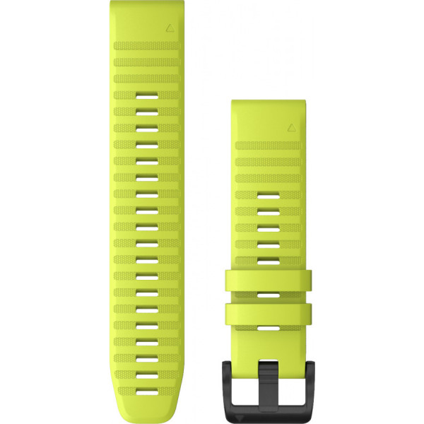 GARMIN Fenix 6 Quickfit 22mm keltainen silikoniranneke 010-12863-04