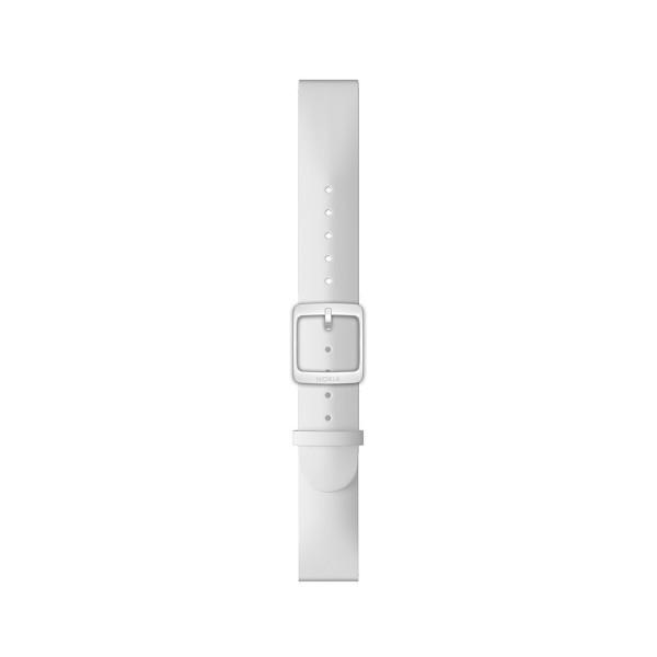NOKIA silikoniranneke valkoinen 18mmm 550029