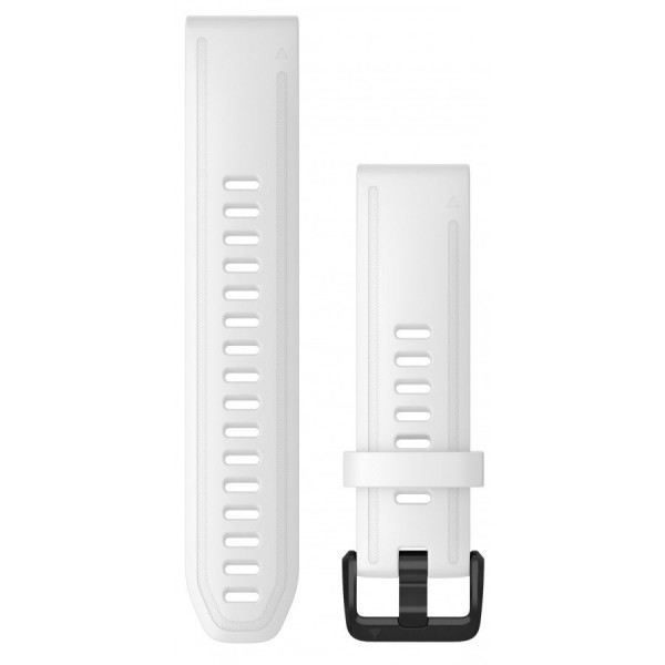 GARMIN Fenix 6S Quickfit 20mm valkoinen silikoniranneke 010-12865-00