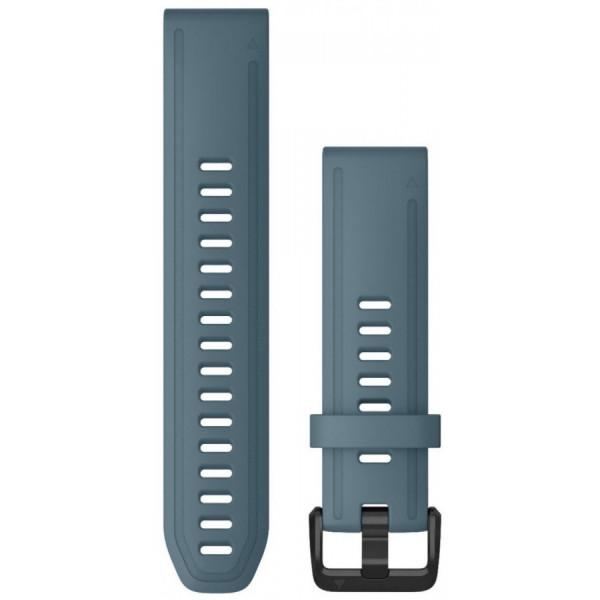 GARMIN Fenix 6S Quickfit 20mm sininen silikoniranneke 010-12870-00