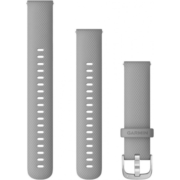 GARMIN Vivoactive harmaa Quick release silikoniranneke 18mm 010-12932-00