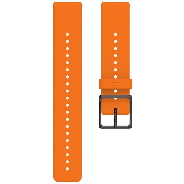 POLAR IGNITE ja UNITE ranneke oranssi M/L 91081719