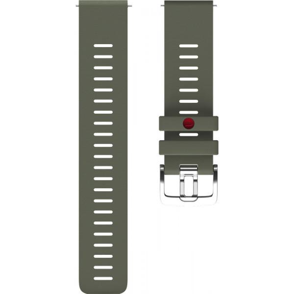 POLAR Grit X vihreä silikoniranneke 22mm 91082601