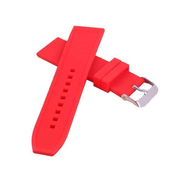 KARU Silikoniranneke punainen 18-24MM