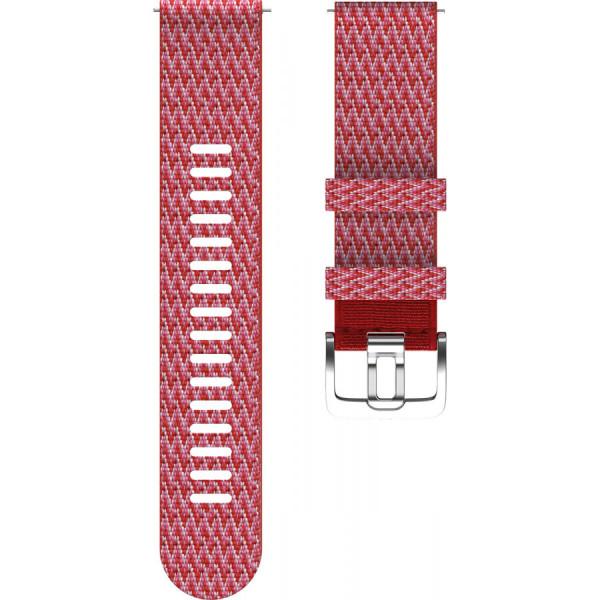 POLAR Grit X punainen 22mm tekstiiliranneke 91081743