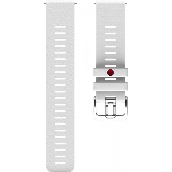 POLAR Grit X valkoinen silikoniranneke 22mm 91081739