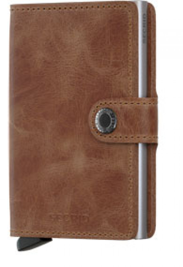 SECRID Miniwallet Vintage Cognac lompakko