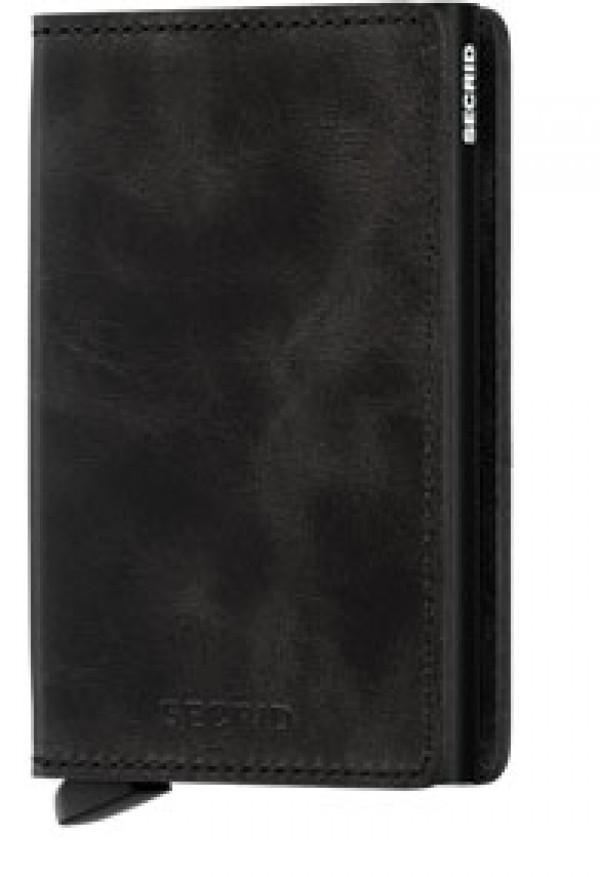 SECRID Slimwallet Vintage Black lompakko