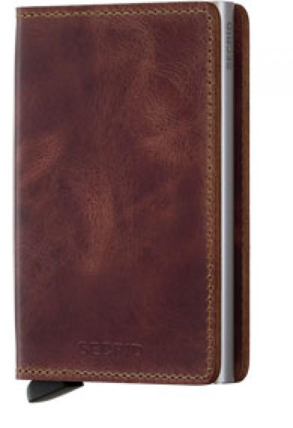 SECRID Slimwallet Vintage Brown lompakko