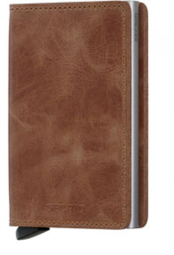 SECRID Slimwallet Vintage Cognac lompakko