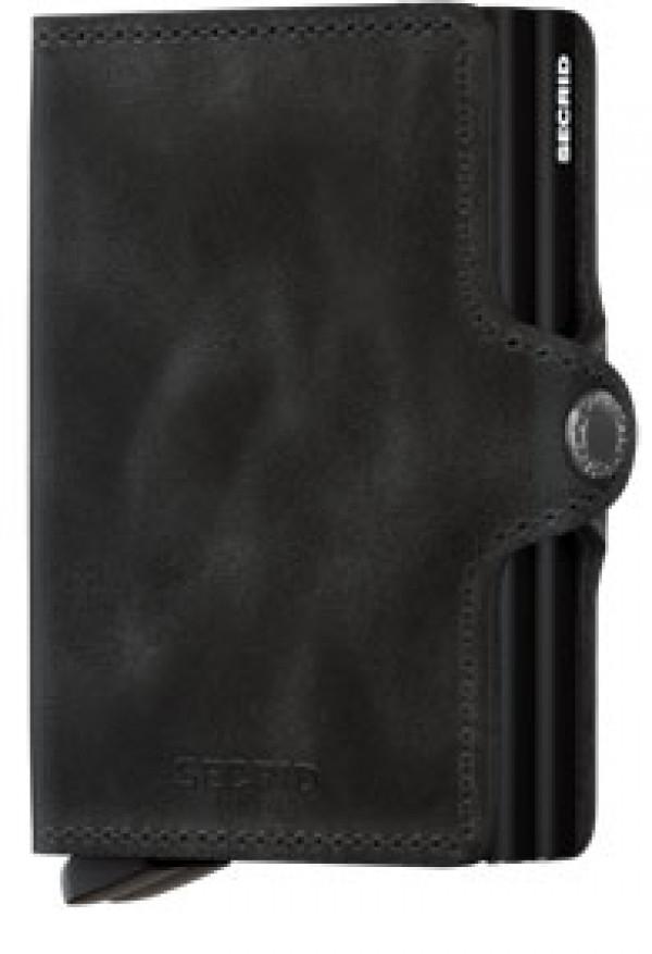 SECRID Twinwallet Vintage Black lompakko