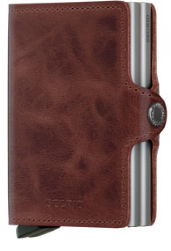 SECRID Twinwallet Vintage Brown lompakko
