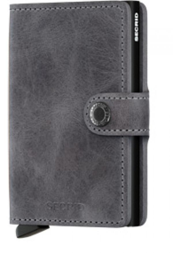 SECRID Miniwallet Vintage Grey lompakko