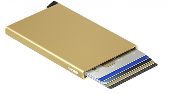 SECRID Cardprotector Gold lompakko