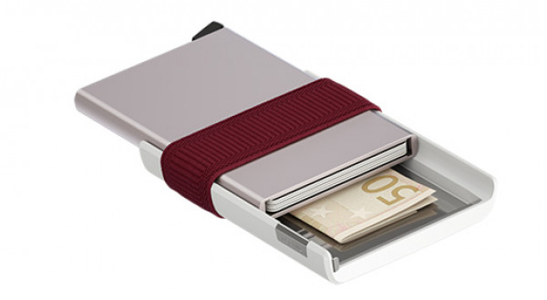 SECRID Cardprotector Cardslide Bordeaux lompakko