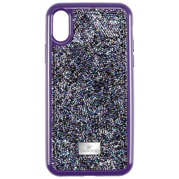 SWAROVSKI Glam Rock Smartphone case with Bumper, iPhone® X/XS, Purple 5449517